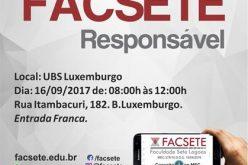 III FACSETE Responsável acontece neste sábado, dia 16, no bairro Luxemburgo