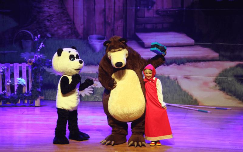 """Masha e o Urso Live Show"""", um espetáculo para toda família em BH"""