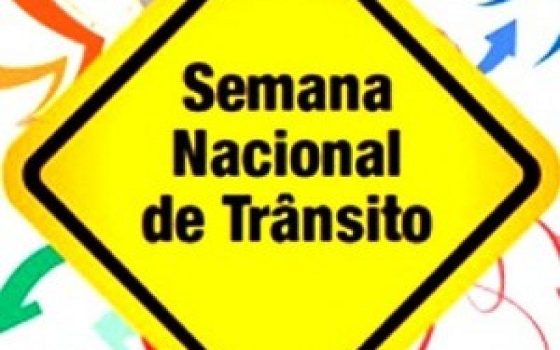Secretaria Municipal de Trânsito e Transportes realiza ações na Semana Nacional de Trânsito