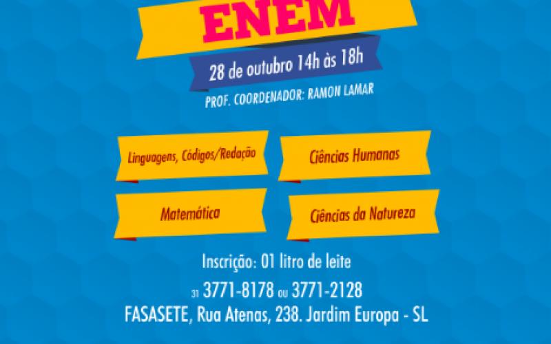 FASASETE promove Aulão do ENEM