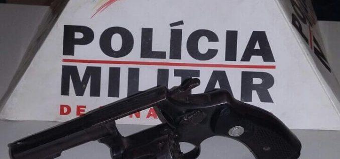 Homem armado ameaça comerciante em Paraopeba e é preso