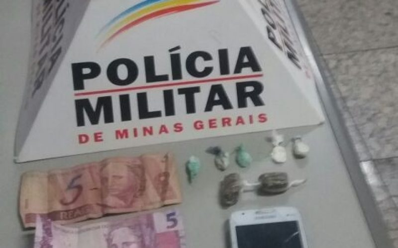 Menor é apreendido com drogas no bairro São Cristovão