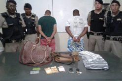 Polícia Militar prende autores de roubo em Caetanópolis