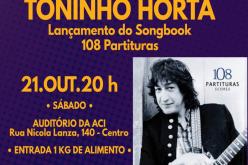 Toninho Horta lança Songbook  no ACI em Sete Lagoas