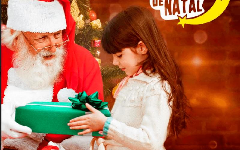 Papai Noel já chegou ao Shopping Sete Lagoas