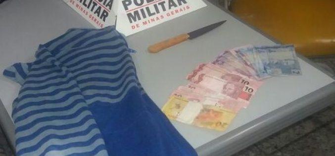Polícia Militar prende autor de roubo no bairro Eldorado