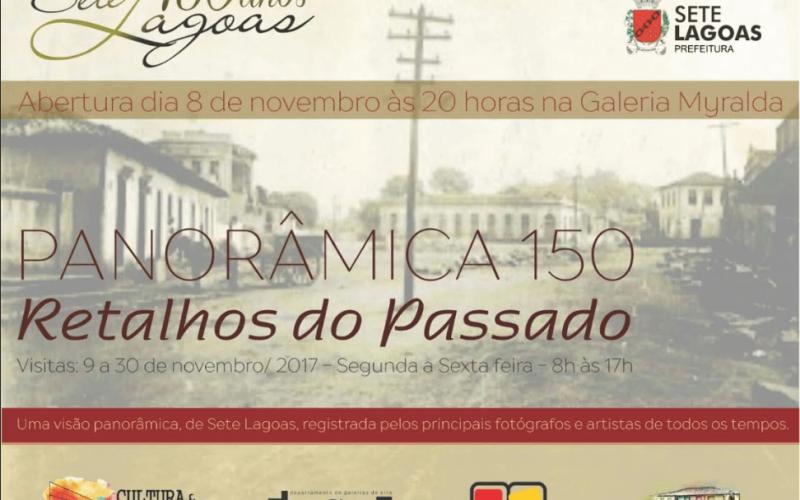 """Exposição """"Retalhos do passado"""" pode ser visitada até o dia 30 de novembro"""