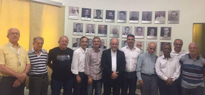 Após posse no último sábado Dom Aluísio visita INSG