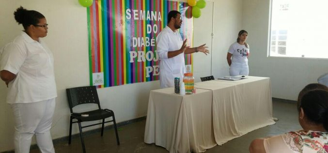 Prefeitura garante apoio para pacientes com diabetes