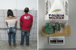 Autores são presos por tráfico de drogas no bairro Progresso
