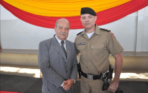 Prefeito participa da solenidade da troca de comando do 25º BPM