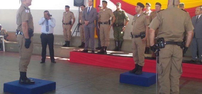 Coronel Luiz Marinho recebe comando do 25º em solenidade em Sete Lagoas