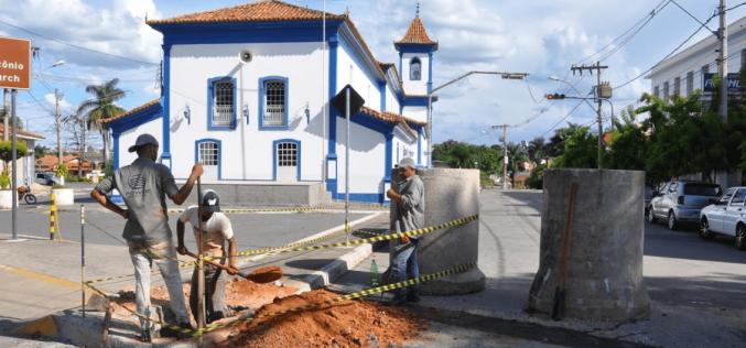 Trânsito no entorno da Catedral de Santo Antônio próximo de ser liberado