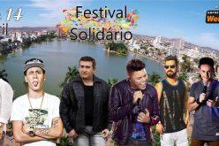 Atrações confirmadas para o evento Festival solidário