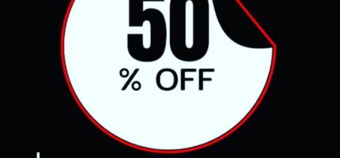 Coleção Transas de Pano com 50% off