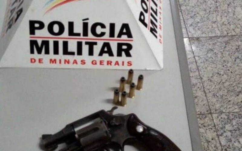 Indivíduo é preso portando arma de fogo na Serra Santa Helena