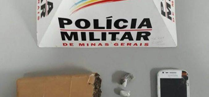 Traficante de drogas é preso pela PM