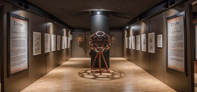 """Shopping Cidade recebe a premiada exposição  """"Da Vinci – A exibição"""""""
