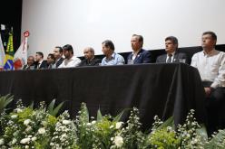 Prefeito e ministro assinaram autorização para obra da ETE
