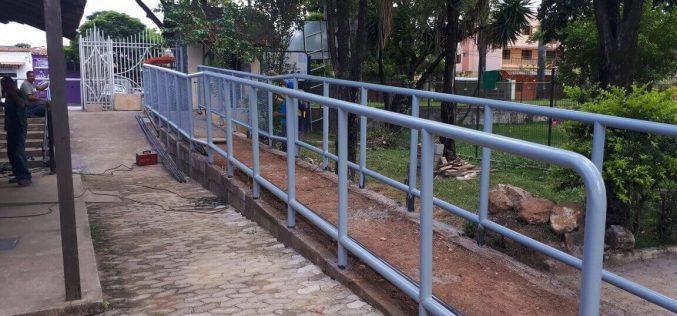 Prefeitura realiza obras de acessibilidade em pontos turísticos