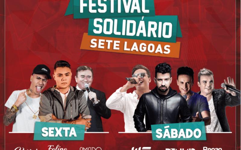 Novos preços do festival solidário