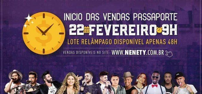 Festival Brasil Sertanejo: Garanta seu passaporte mais barato