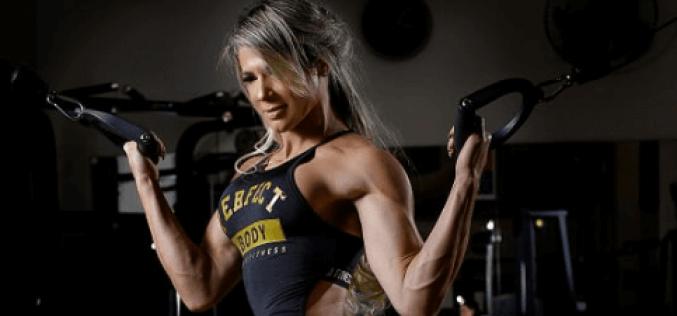 Atleta Val Almeida, campeã da Copa Body Classic de Fisiculturismo, se prepara para agenda intensa de campeonatos