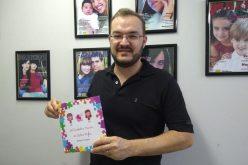 Autismo e inclusão são temas de livro de Rodrigo Pazzinatto