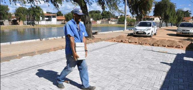 Prefeitura está finalizando revitalização da Lagoa da Catarina