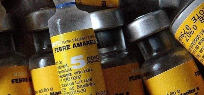 Vacinação contra a Febre Amarela na região da Serra Santa Helena