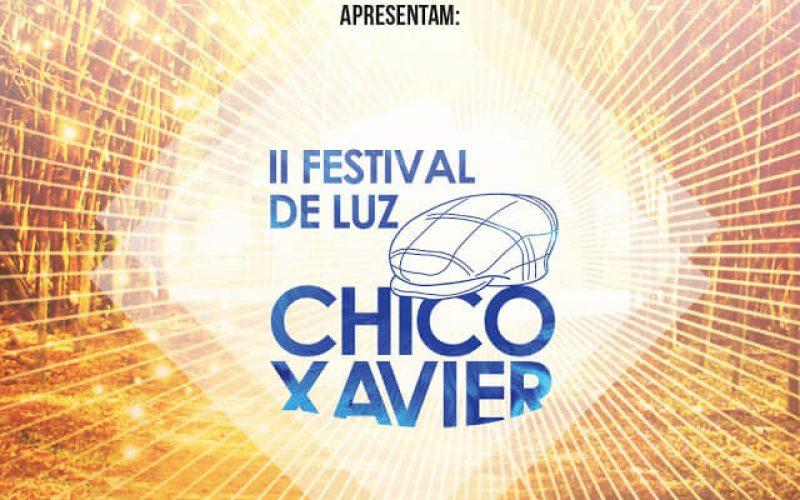 II Festival de Luz Chico Xavier será realizado em Pedro Leopoldo