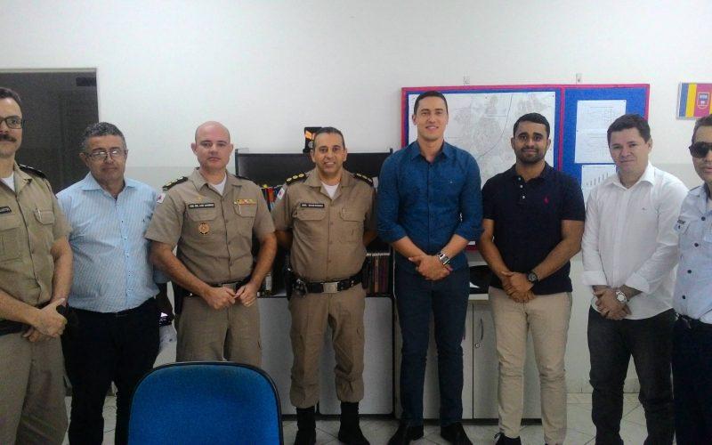 Vereador Fabrício, Deputado Douglas Melo e  Prefeitura de Sete Lagoas se unem em prol da segurança na Feira da Paz 2018