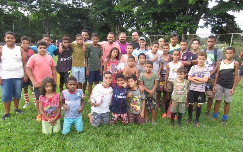 Prefeitura de Sete Lagoas inaugura Escolinha de Futebol da Fazenda Velha