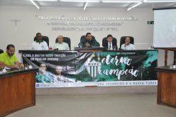 Prefeito Leone e vice Duílio participam de sessão em homenagem ao Bela Vista