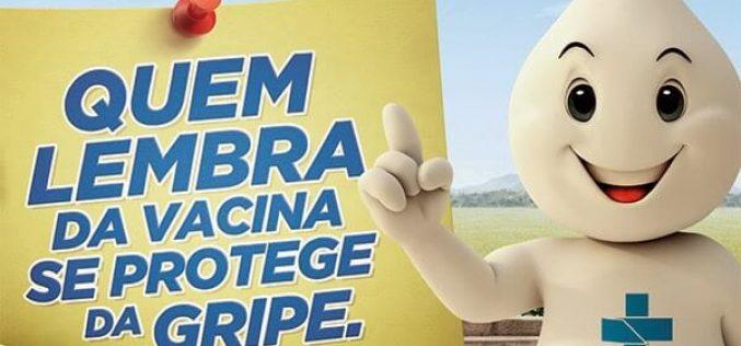Campanha de vacinação contra a gripe em Sete Lagoas começa nesta segunda (23/4)