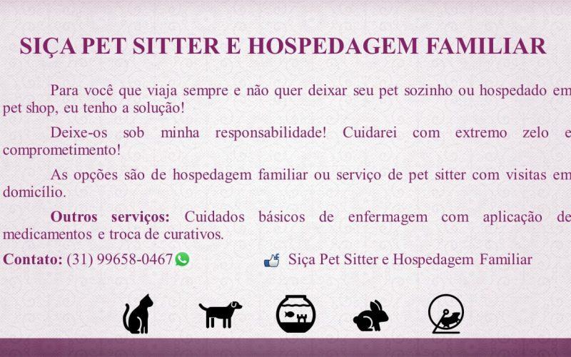 Siça Pet Sitter e hospedagem familiar