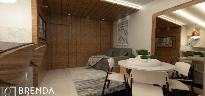 A importância de um projeto de decoração para apartamentos pequenos