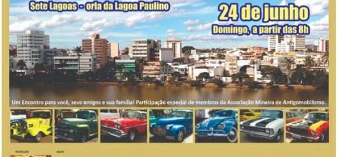 Encontro de carros antigos marca o fim de semana em Sete Lagoas e Paraopeba