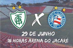 Arena do Jacaré será palco de jogos do Campeonato Brasileiro de Aspirantes