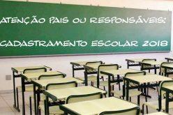 Cadastro Escolar vai até dia 22 e garante vaga nas escolas públicas
