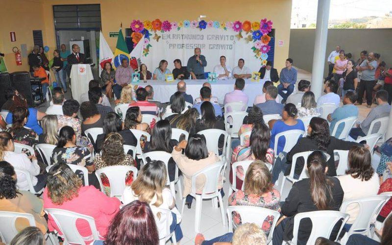 Prefeitura inaugura escola Professor Raymundo Gravito no Jardim dos Pequis
