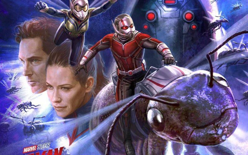 Destaques: Homem formiga e a Vespa, Máquinas Mortais e  Os incríveis 2