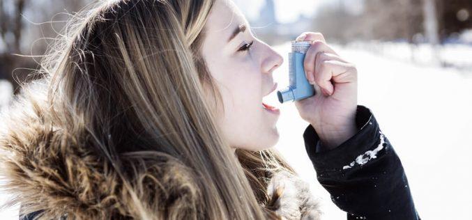 5 dicas de como combater a asma no inverno.