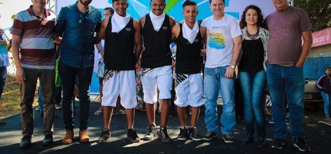 """Terceira etapa do projeto """"Pelos 7 Cantos"""" animou a Feira do Nova Cidade no último domingo"""