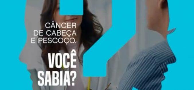 Dia Mundial de Conscientização ao Câncer de Cabeça e Pescoço