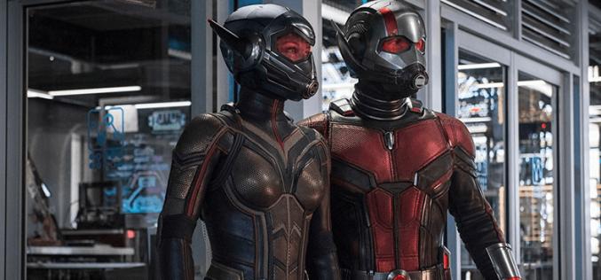 Novidades: Homem – Formiga e a Vespa, As Panteras e Homem- Aranha , longe do lar