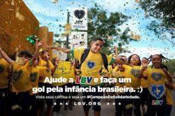 Faça um gol pela infância brasileira!