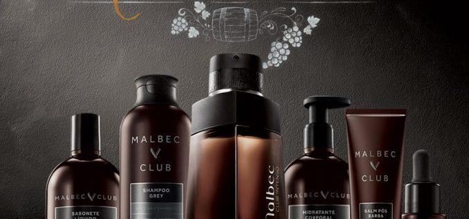 O Boticário lança Malbec Club: uma linha completa de cuidados pessoais