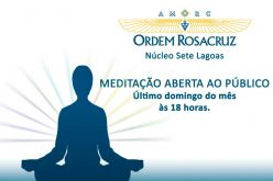 AMORC promove Meditação aberta no próximo domingo