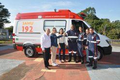 SAMU recebeu nova ambulância para atendimento à população